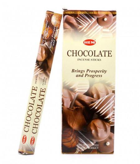 Set betisoare parfumate Hem Ciocolata 1 set x 6 cutii x 20 betisoare