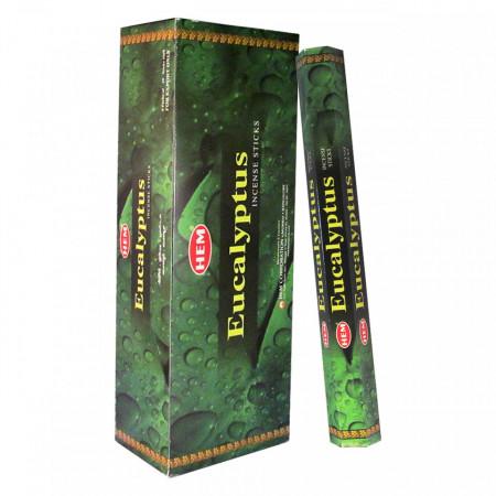 Set betisoare parfumate Hem Eucalipt 1 set x 6 cutii x 20 betisoare