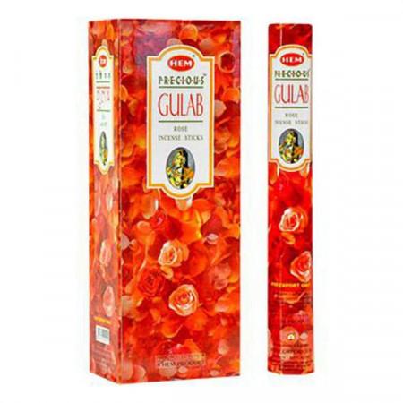 Set betisoare parfumate Hem Gulab 1 set x 6 cutii x 20 betisoare