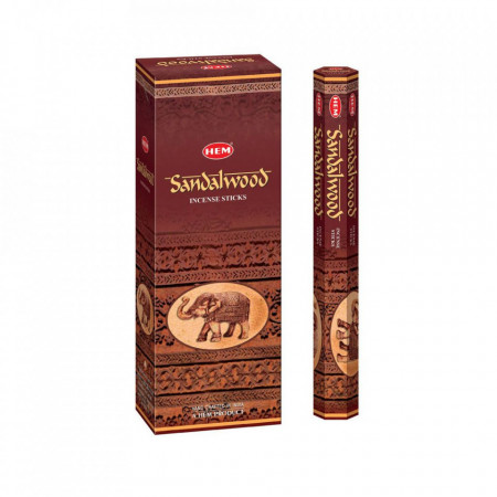 Set betisoare parfumate Hem Sandalwood 1 set x 6 cutii x 20 betisoare