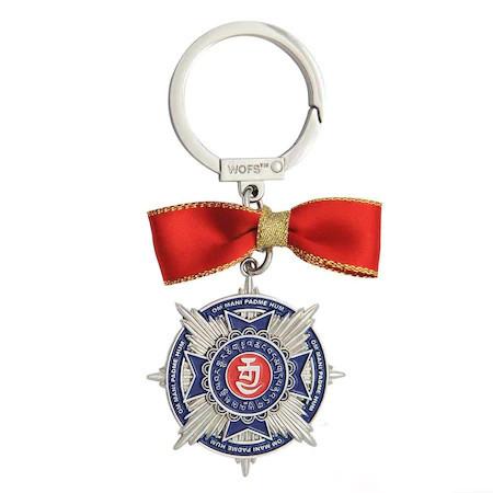 Amuleta -medalie pentru prosperitate – 2020, remediu Feng Shui din metal, 120 mm lungime