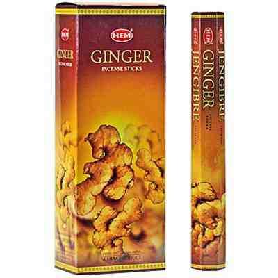 Set betisoare parfumate Hem Ginger 1 set x 6 cutii x 20 betisoare