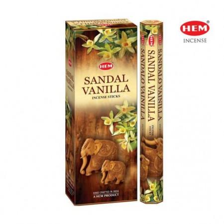Set betisoare parfumate Hem Sandal Vanilie 1 set x 6 cutii x 20 betisoare