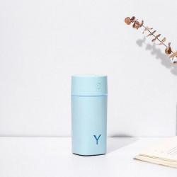 Difuzor ultrasonic Time ALBASTRU, 230 ml, functie de umidificator, aroma difuzor, purificator aer, USB