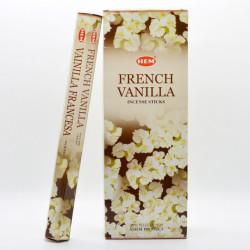 Set betisoare parfumate Hem FRENCH VANILLA 1 set x 6 cutii x 20 betisoare