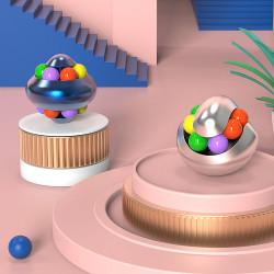 Spinner-puzzle rotativ GOBI aluminiu Anti-stres magicball