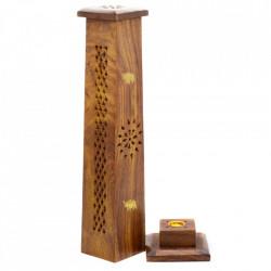 Suport lemn betisoare parfumate tip turn