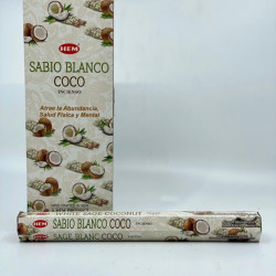 Set betisoare parfumate Hem sabio blanco coco 1 set x 6 cutii x 20 betisoare