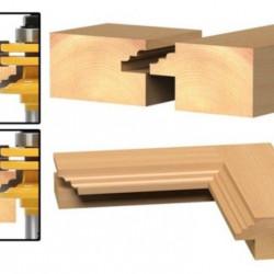 Freza lemn pentru profile de usi, rame oglinzi, geamuri 8 mm