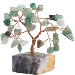 Copacei cu aventurin, piatra norocului si a sanselor bune, copacei decorativi pentru optimism si antistres