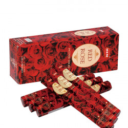 Set betisoare parfumate Hem RED ROSE 1 set x 6 cutii x 20 betisoare