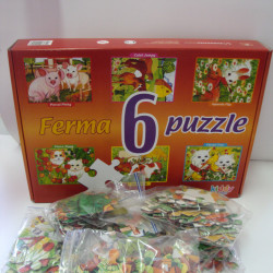 Ferma 6 Puzzle kiddy games