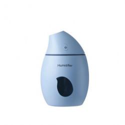 Difuzor ultrasonic Mango ALBASTRU, 160 ml, functie de umidificator, aroma difuzor, purificator aer, USB