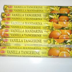 Set betisoare parfumate Hem vanilie si mandarine 1 set x 6 cutii x 20 betisoare