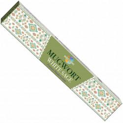 Betisoare parfumate Premium HEM Mugwort White Sage 15g