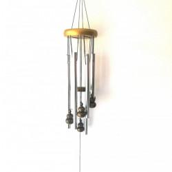 Clopotei de vant Feng Shui 5 tuburi metalice, sunet placut