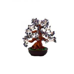 Copacel Feng Shui cu pietre semipretioase, Naimeed, violet