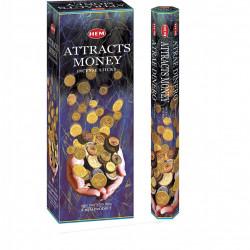 Set betisoare parfumate Hem ATTRACTS MONEY 1 set x 6 cutii x 20 betisoare