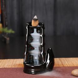 Suport ardere conuri parfumate cu efect de cascada - Backflow 2