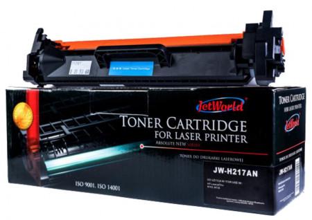 Cartus toner compatibil JetWorld Black 1600 pagini CF217 HP LaserJet Pro M102a, - JW-H217AN