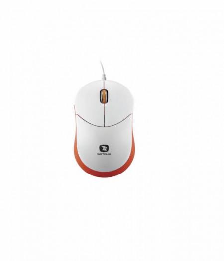 Mouse Serioux Rainbow 680, USB, Rosu - RBM680-RD