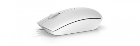 Mouse optic Dell MS116, USB, Alb - 570-AAIP