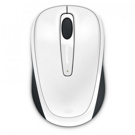 Mouse Microsoft Mobile 3500, Wireless, Alb Glossy - GMF-00196