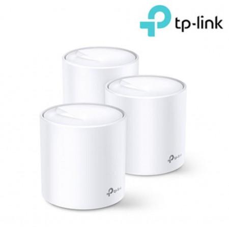 Sistem Wi-Fi Mesh TP-Link Deco X20(3-pack) Dual-Band Gigabit AX1800 cu acoperire completa pentru casa - DECO X20(3-PACK)