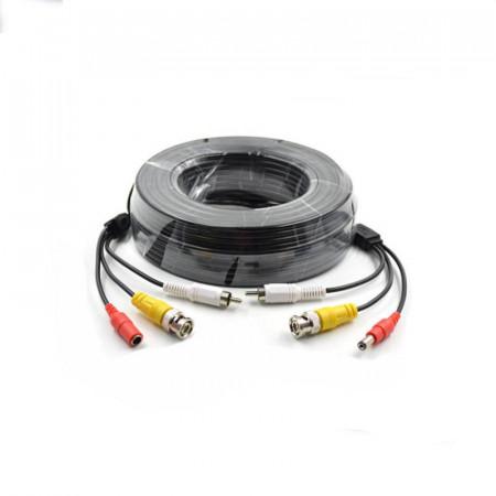 Cablu video cu alimentare siaudio 15 metri LN-EC04-15M-AUDIO; conectori: BNC - LN-EC04-15M-AUDIO