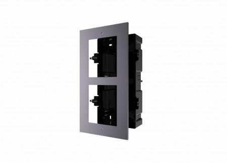 Carcasa pentru montaj modul VideoIntercom Hikvision DS-KD-ACF2 - DS-KD-ACF2