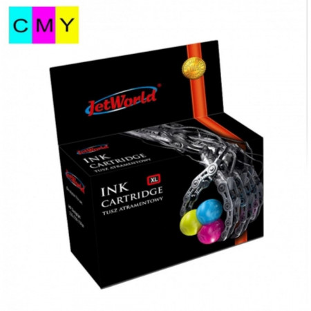 Cartus pentru imprimanta, JetWorld JWI-C513CMYR inkjet cartridge, Tri-Color - JWI-C513CMYR