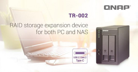 Direct Attached Storage QNAP, 2-bay, 3.5-inch - TR-002