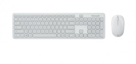 Kit Tastatura + Mouse Microsoft Desktop, Bluetooth, Glacier - QHG-00051