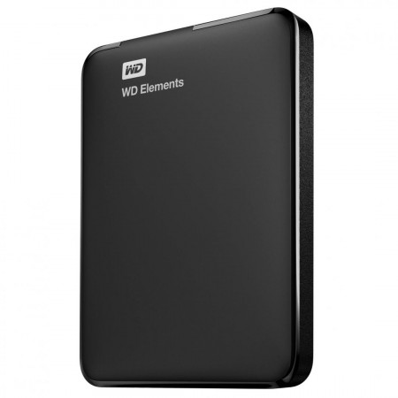 "HDD extern WD Elements Portable, 1TB, 2.5"", USB 3.0, Negru - WDBUZG0010BBK-WESN"