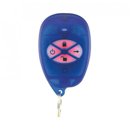 Telecomandă 4 butoane, 5 acţiuni programabile, frecvenţa: 433MHz;razăradio d - REM1