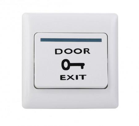 Buton de iesire incastrabil din plastic, ND-EB02A, fara LED; Iesire contact: NO/ - ND-EB02A