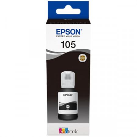 Flacon Epson 105 EcoTank, Negru - C13T00Q140
