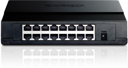 Switch TP-LINK TL-SF1016D, 16 x 10/100Mbps - TL-SF1016D