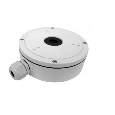 Suport Hikvision Junction box DS-1280ZJ-M, aliaj de aluminiu, rezistent la apa, alb - DS-1280ZJ-M