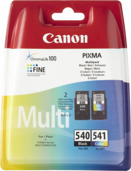 Cartus Canon PG540 / CL541 Value Pack - BS5225B006AA