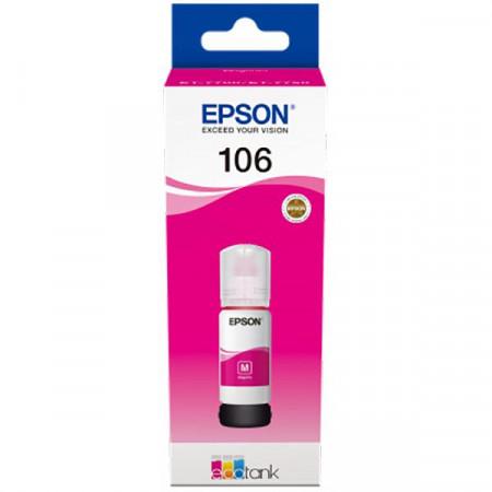 Flacon Epson 106 EcoTank, Magenta - C13T00R340