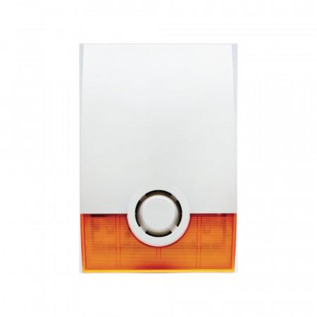 Sirena de exterior wireless cu flash Videofied OSX200, avertizare acustica si op - OSX200