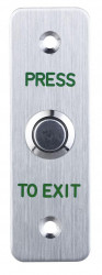 Buton de iesire ND-EB24, Iesire contact: NO/NC, material: otel inoxidabil, monta - ND-EB24
