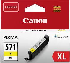 Cartus Canon CLI-571XLY, Galben XL - BS0334C001AA
