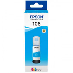 Flacon Epson 106 EcoTank, Cyan - C13T00R240