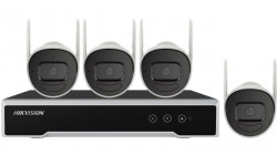 KIT Supraveghere exterior Hikvision IP WIFI NK44W0H-1T(WD)(D), 4MP, kitul cuprin - NK44W0H-1T(WD)(D)