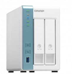 QNAP NAS 2BAY 1U AL-314 1.7GHZ 2GB
