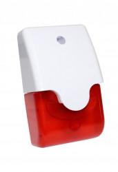 Sirena Piezo cu flash rosu, interior, carcasa alba ND-SI53. - ND-SI53
