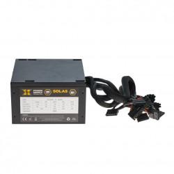 Sursa ATX Serioux 600W, Solas White, PFC Activ, Certificare 80+, Eff peste 80%, cabluri mansetate - SRX600W12PA80