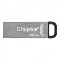 USB Flash Drive Kingston, DataTraveler Kyson, 32GB, USB 3.2, metalic - DTKN/32GB